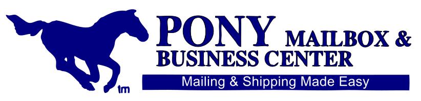 Pony Mailbox & Business Center